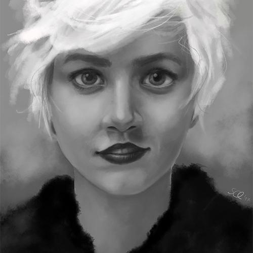 Portrait Blondi
